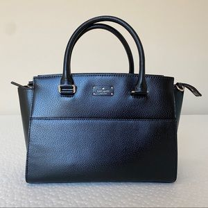 NWOT Kate Spade Jeanne Small Satchel Black